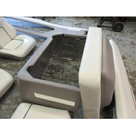 Bayliner Capri Interior Seats Cushions, Motor Cover, Seat & Back Rest