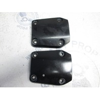 0338741 Evinrude Johnson 90-300 Hp Midsection Lower Mount Bracket Covers
