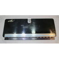 "1988 Sea Ray Sorrento Boat Dash Panel Glove Box Lid Cover 16 3/4"" x 6 1/8"""