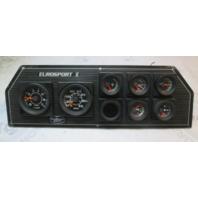 1988 Sunbird EuroSport II Boat Dash Instrument Cluster