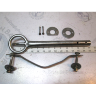 """14"""" Boat Stainless Steel Eye Hook Tow Cleat for Ski Rope"""