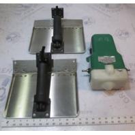 """Boat Leveler MFG Boat Hydraulic Trim Tabs 11"""" x 8"""" & Pump"""