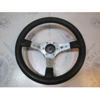 "Nuova Raid 14"" Boat Steering Wheel 3 Spokes 3/4"" Tapered Shaft"