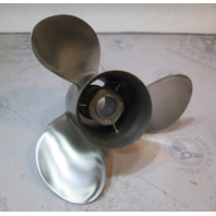 "48-16318A5 Mercury Mercruiser Stainless Propeller 13 3/4"" X 21 Pitch Prop"