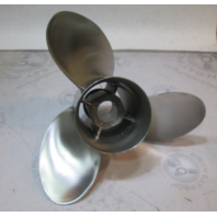 "48-13702A40 Mercury Stainless Propeller 13 3/4"" X 21P RIGHT HAND ROTATION"