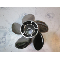 """48-815744A45 High Five Blade Stainless Prop 22 Pitch 40-140hp 4 1/4"""" Gear Case"""