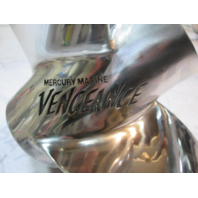 Mercury Vengeance Stainless Propeller 14 X 12 Pitch 75-140 Hp GREAT Pontoon Prop