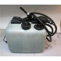 0176723 OMC Evinrude Johnson Outboard 3 Gallon Remote Oil Tank Dual Pickup
