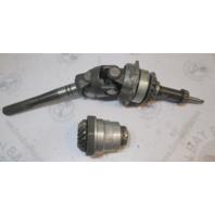 983918 21:18 Gear Set & Drive Shaft OMC Cobra 3.0 4 Cyl Stern Drive Upper Unit
