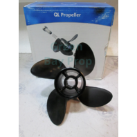 "41102334 QL Propeller E Series 14 x 21 Pitch 4 Blade 4 3/4"" Hub"