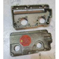 0319898 Evinrude Johnson 50 HP Air Intake Silencer Assembly 1974 0384265