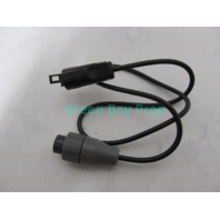 TA-401BK Lowrance Eagle Transducer Adapter Cable 2-Pin 8-97