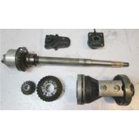 0435022 Evinrude Johnson OMC Cobra 100-300 Hp Prop Shaft & Gear Assy 0435020