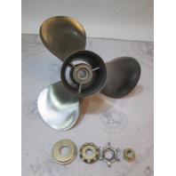 "48-88438A4 Quicksilver Stainless Prop 14.5"" X 17P Mercury V6 & V8 15 Spline RH"