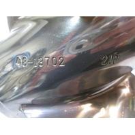 "48-13702A46 Mercury Mirage Plus Stainless Propeller 14 3/4"" X 21P RH ROTATION"