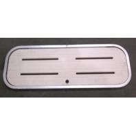 "Floor Deck Ski Hatch Poly Cover Aluminum Frame 37 3/8"" x 13 3/8"""