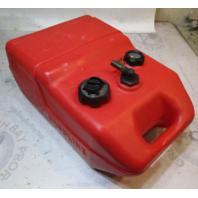 Tempo Plastic Red Remote Portable Marine Gas Tank 6.5 Gallons