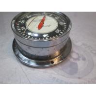 Vintage Airguide Marine Speedometer 45 MPH 4 in Diameter