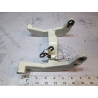 335470 White Evinrude Johnson Outboard Swivel Bracket Trail Lock Arm