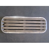 "Floor Deck Ski Hatch Cover Teak Aluminum Frame 37 1/2"" x 13 3/8"""