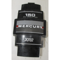 2149-7532A2 Mercury Mariner Outboard V6 Black Front Cowl Cover 1977-88