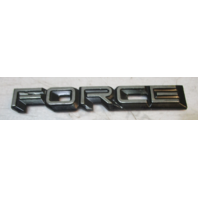 """Force Outboard Marine Boat Top Cowl Name Plate Emblem 1980s 5"""""""