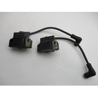 Set of 2 0582508 Ignition Coil & Wire Evinrude Johnson 2-300 Hp Outboard 582508