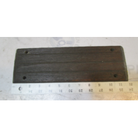 "Vintage Marine Boat Teak Wood Step Pad Trim 12"" x 3 3/4"" x 3/8"""