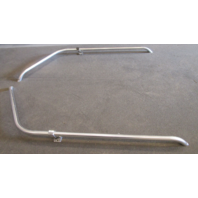1977 Yar-Craft Boat Aluminum Bow Grab Rail Hand Railing Handle Set 42""