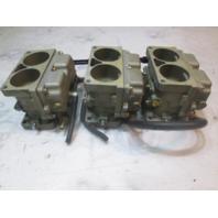 Mercury V135 V6 Outboard WH-33 Carburetor Set 135 HP