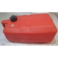 8872 Attwood Plastic Marine Boat Outboard Portable Red Gas Fuel Tank 6 Gallon