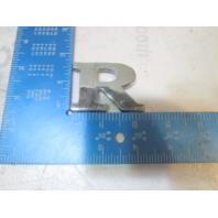 """2000 Crownline 180 Boat Chrome Plastic Emblem Logo Letter """"R"""" 1 5/8"""""""