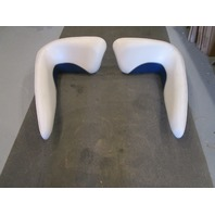 2000 Crownline 180 18' Boat Front Bow Side Wall Pad Cushions Vinyl