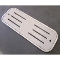 "2000 Crownline Floor Deck Ski Hatch Poly Cover Aluminum Frame 37 1/4"" x 13 1/4"""