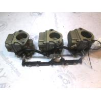 9012A33 9012A34 9012A35  Mercury Mariner Outboard 80HP Tiller Carburetor Set
