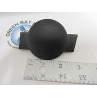 "Avalon Pontoon Boat Dash Blank Gauge Hole Plug Insert Black 2-1/4"""