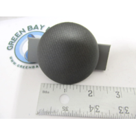 "Avalon Pontoon Boat Dash Blank Gauge Hole Plug Insert Gray Woven 2-1/4"""