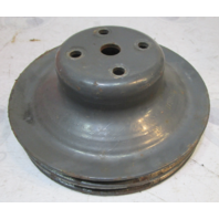 3927796AE OMC Chevy V8 Stern Drive 2 Groove 7 Inch Water Pump Pulley