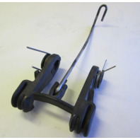 98830A2 Mercury Mariner Swivel Bracket Reverse Lock, Hook & Spring for 18 20 25HP