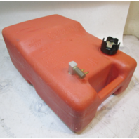 Chilton Outboard Plastic Red Remote Portable Marine Gas Tank 6.6 Gallons