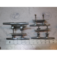 """2002 Glastron SX 175 6"""" Boat Cleat Stainless Steel (Set of 4)"""