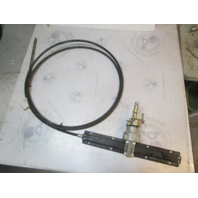M86X16 Teleflex Uflex 16' Boat Rack Steering Cable and Helm