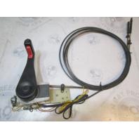 OMC Cobra Throttle Shift Remote Control Box with Trim/Tilt 15' Cables 1979+