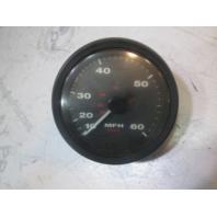 """1993 Maxum 1800XR 5"""" Faria 10-60 MPH Speedometer"""
