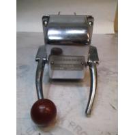 Morse Dual Lever Chrome Binacle Top Mount Remote Control Box
