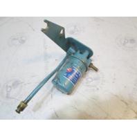 0981065 OMC Stringer Stern Drive Ford V8 Fuel Filter Assembly & Bracket 0980806