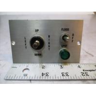 Marine Flood/Spot Light Control Switch Dash Panel