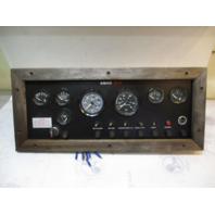 1987 Ebko Monte Carlo Boat Dash Panel VDO Gauges & Switches