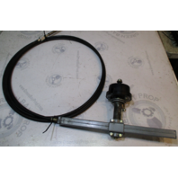 Teleflex SSC12475 15.5 Ft Rack/Pinion Steering Cable & Helm