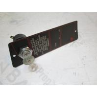 1988 Bayliner Capri OMC Cobra Boat Dash Ignition Key Switch Panel & Key